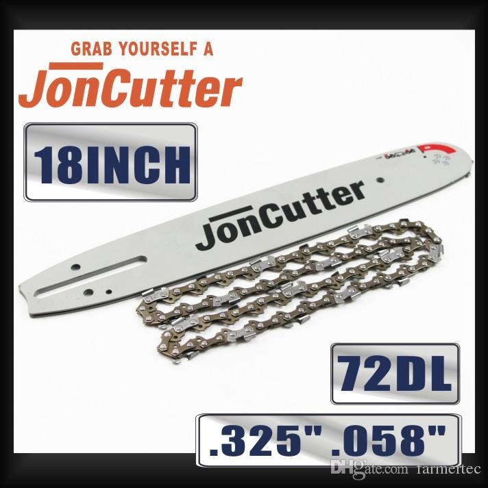 18 polegadas .325 .058 72DL cadeia de serra e guia de barra de combinação para JonCutter G4500 motosserra