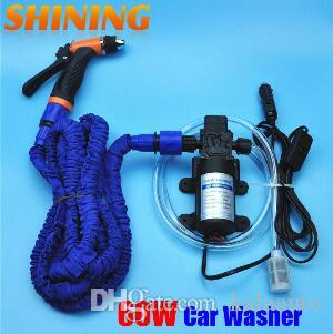 2019 12V Car Wash Device Car Washing Machine Cleaning Pump High Pressure Water Pump Washing Equipment Portable Washer Set