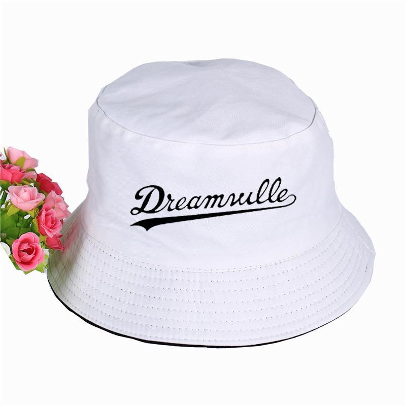 Dreamville طباعة بنما دلو قبعة عالية الجودة صيف الرياضة كاب الشمس قناع الصيد الصياد قبعة