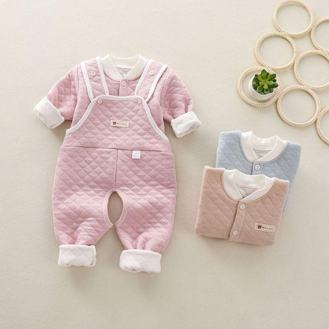 Newborn Infant Baby Boy Girl winter Suit Coat Long Sleeve 1-9M