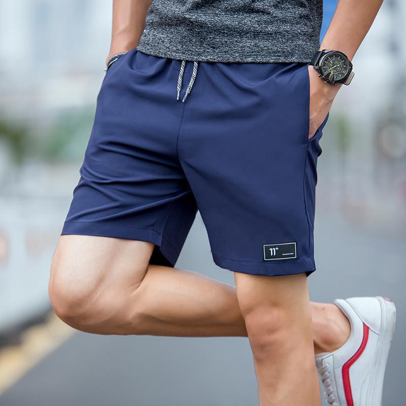 Herren Shorts Herrenkomprimierung 4XL Sommer Homme Polyester Patchwork Kurze Hosen Hohe Taille elastisch