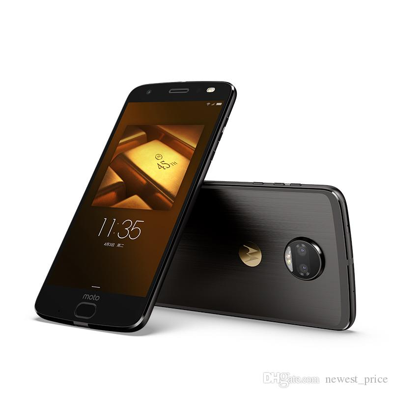 """원래 모토로라 Z 2018 4G LTE 휴대 전화 6기가바이트 RAM 1백28기가바이트 ROM 스냅 드래곤 835 옥타 코어 안드로이드 5.5 """"12.0MP 지문 ID NFC 휴대 전화"""
