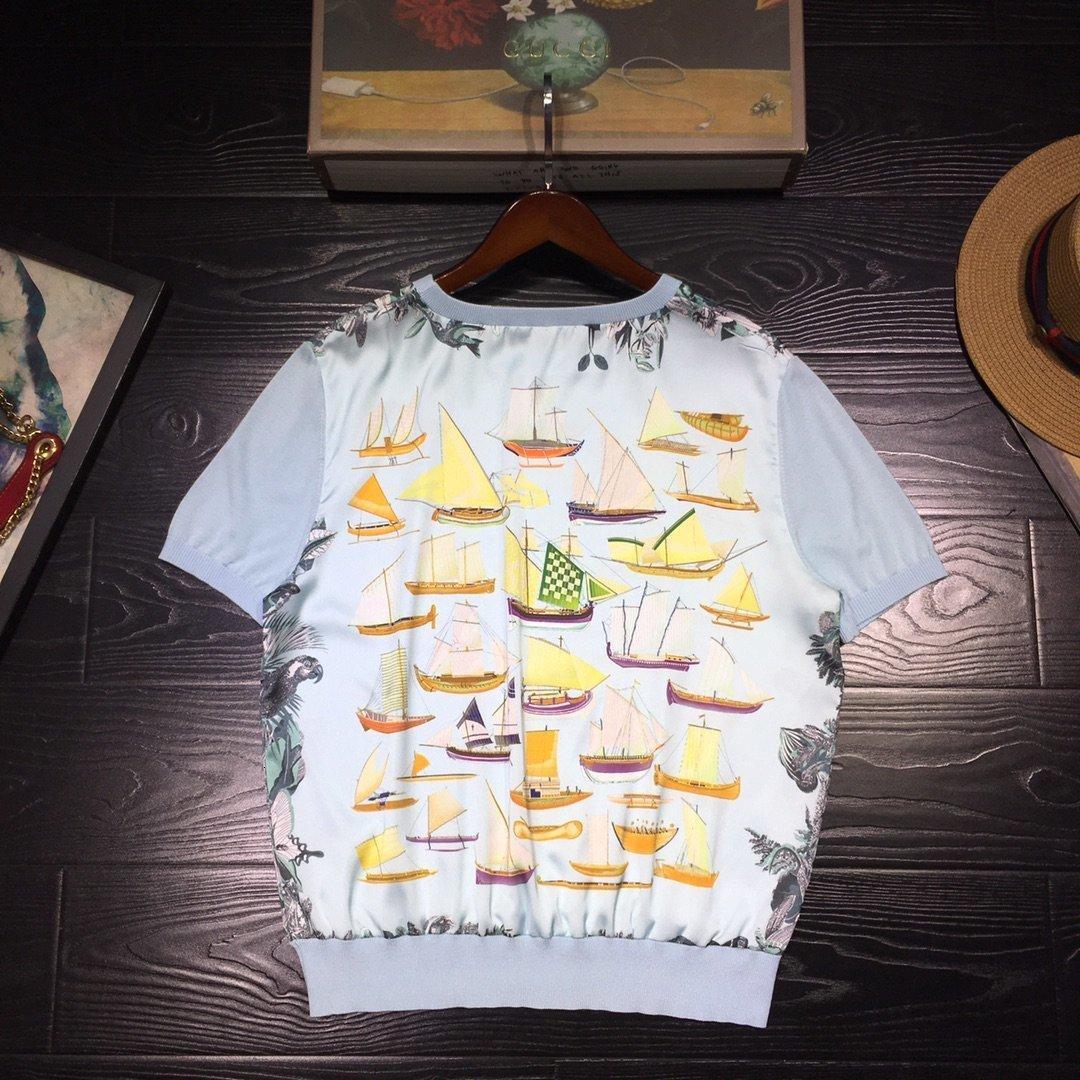 Tasarımcı Kadınlar Gömlek 2020 Yaz moda gömlek tişörtleri Ücretsiz favori yeni listeleme Parti çekicilik JPUN G4UF G4UF nakliye bahar
