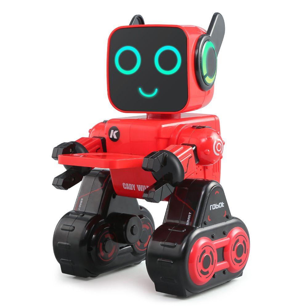 YDj-K3 Intelligent RC Roboter-Spielzeug, Sprachsteuerung Interaktion, Programmierung Aktion, Sparbüchse, Tonaufzeichnung, Tanz Sagen Story, Kid Geburtstags-Geschenk