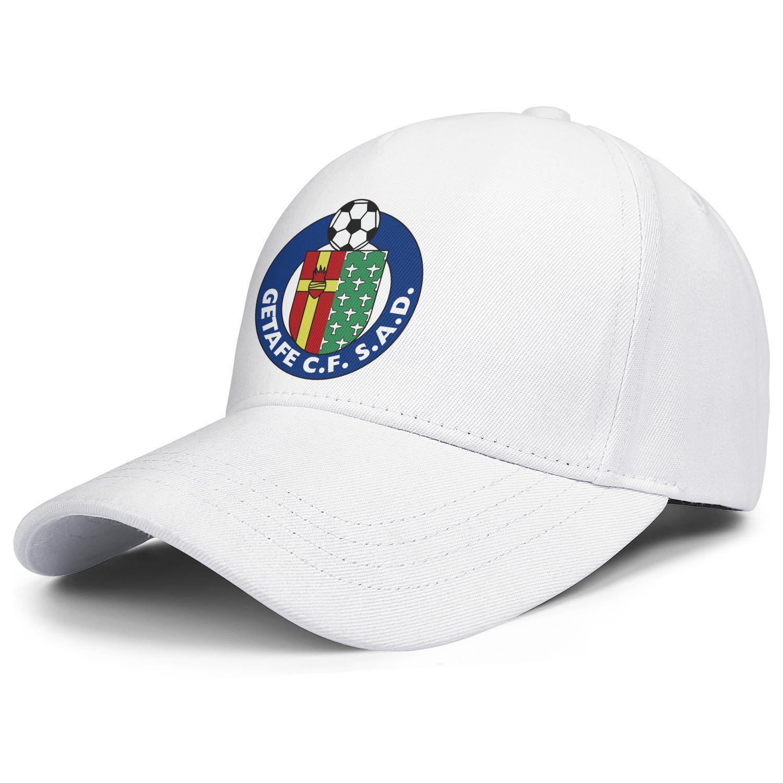 Getafe Club de Fútbol S.A.D. Azulones El Geta Männer Frauen verstellbare Snapback Cap Cute Fishing Hats Label Text Kokospalme Camouflage