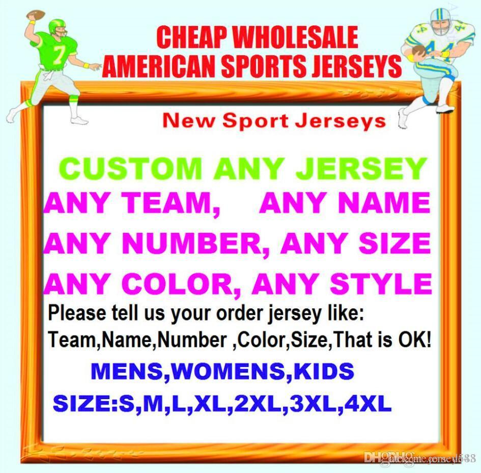 All Stitched Custom american football jerseys Cleveland Dallas college authentic cheap baseball basketball mens womens youth USA 4xl tshirts