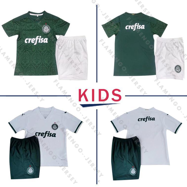 NOVO Palmeiras SOCCER JERSEY Home Green DUDU G.JESUS ALECSANDRO Palmeiras JERSEYS ALLIONE CLEITON 2020 camisa Brasil kids kit de futebol
