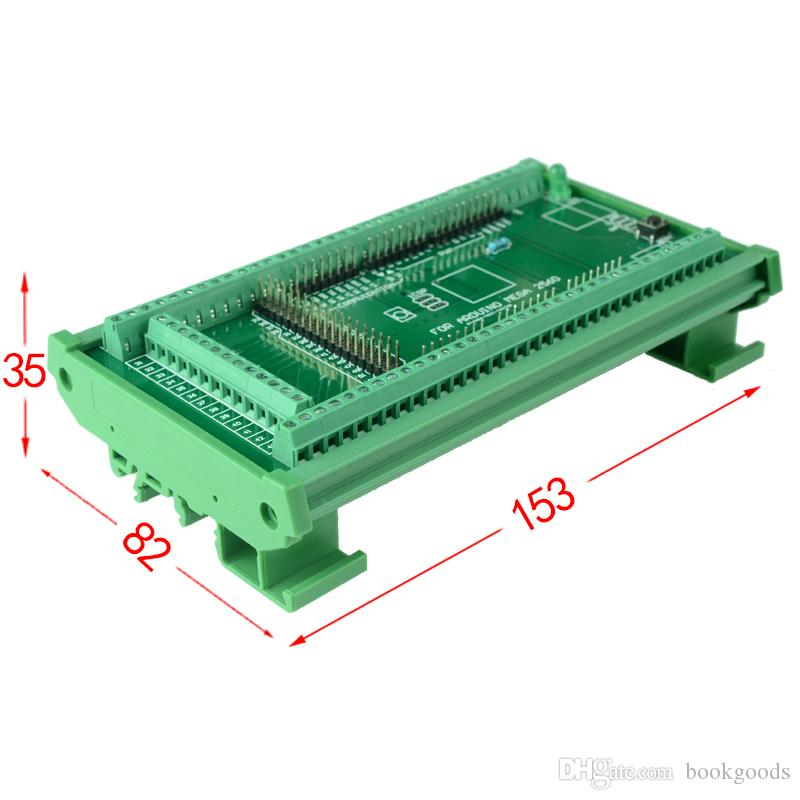 MEGA-2560 R3의 경우을 Freeshipping DIN 레일 마운트 스크류 터미널 블록 어댑터 모듈