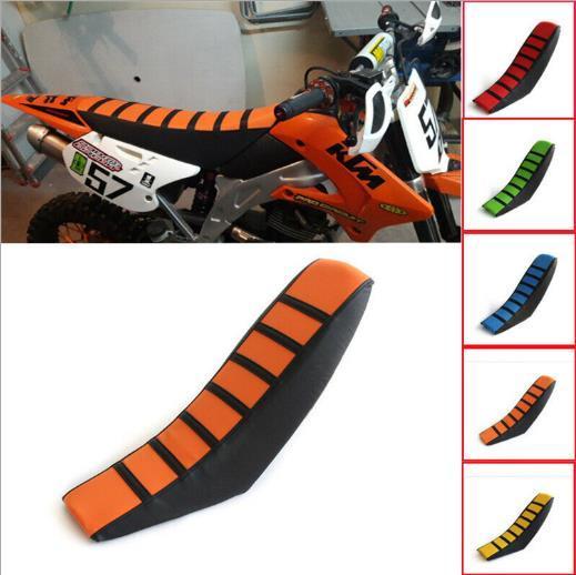 الألوان الخمسة الجديدة لمقاعد الدراجات البخارية عبر البلادrmz CRF KTM SX EXC KXF antiskid thickening