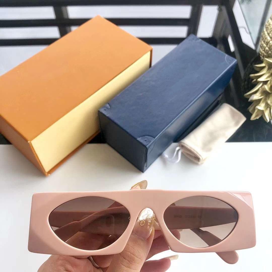 Occhiali da sole alla moda Occhiali da sole Modello L1235 per le donne di Charme Uomo che guida i vetri UV400 Moda estate di alta qualità con la scatola
