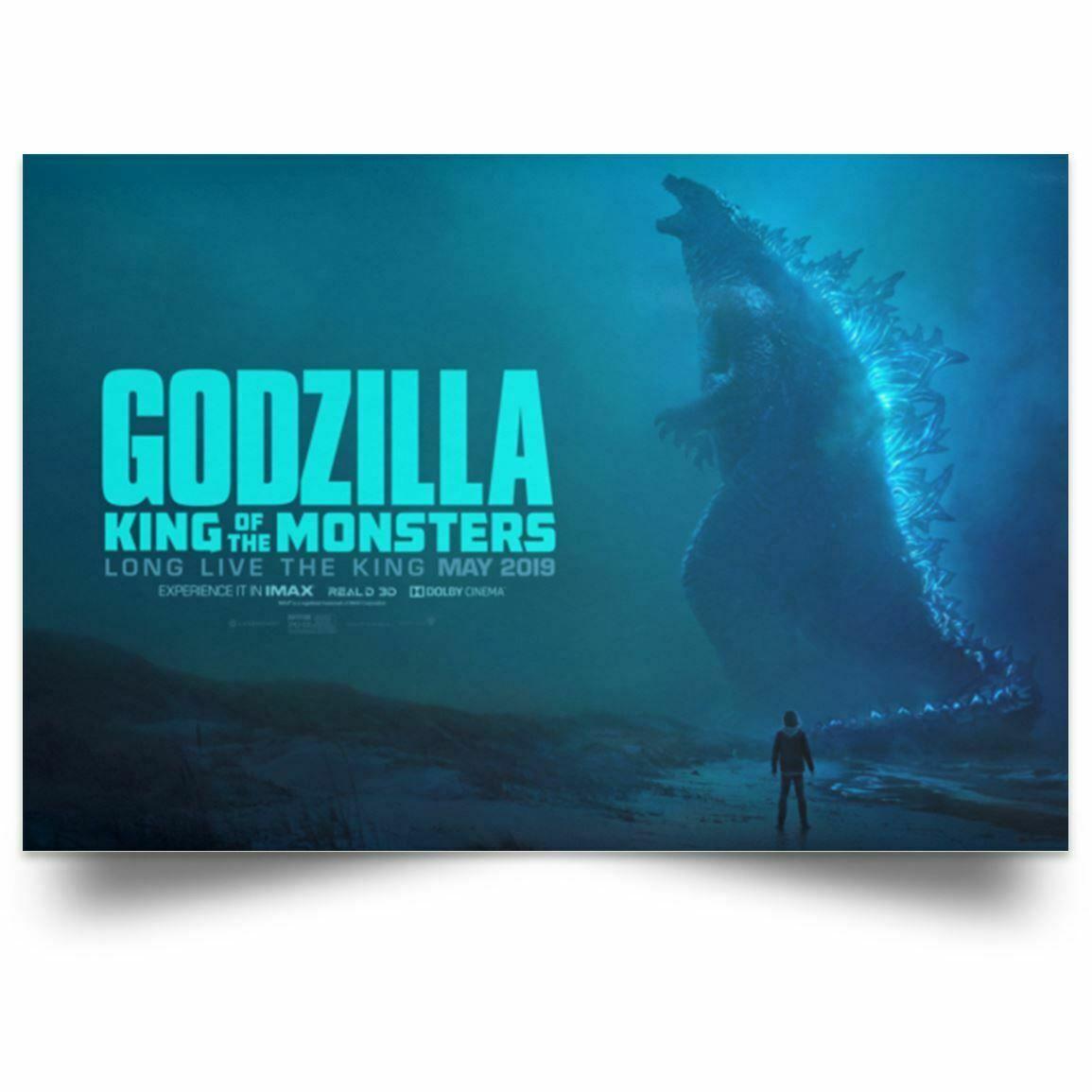 2020 New Godzilla King Of The Monsters Wallpaper Wall Decor Art