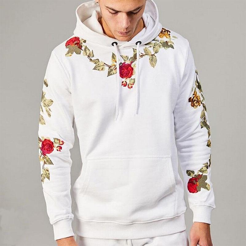 Rose Clothes Hoodies Sweatshirt Men Endgame Streetwear Hip Hop Mens Hoodie Sweatshirts Male Harajuku