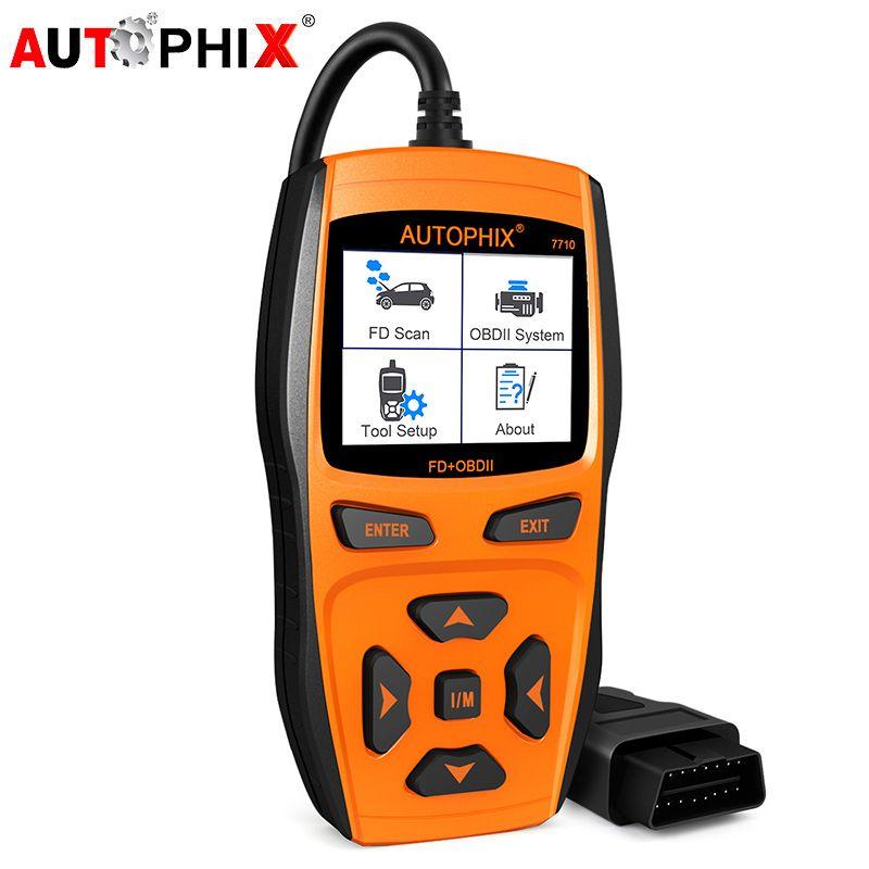 Scanner for Cars OBD2 Car Engine Fault Code Reader +ABS SRS Airbag EPB Oil Reset OBD 2 Automotive Diagnostic Tool Autophix 7710