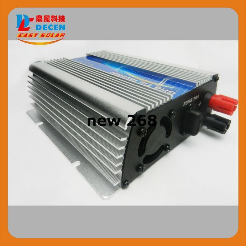 Freeshipping DECEN@ 10.5-30Vdc 300W Solar Pure Sine Wave Grid Tie Inverter Output 190-260Vac,power inverter For Home Solar Energy System