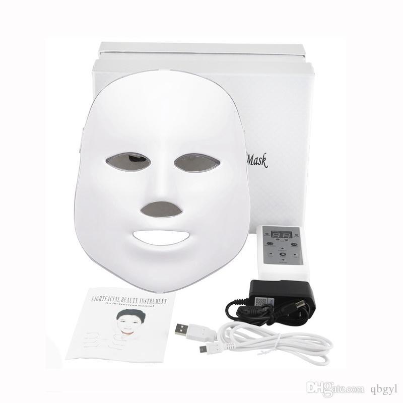 masque facial home care led