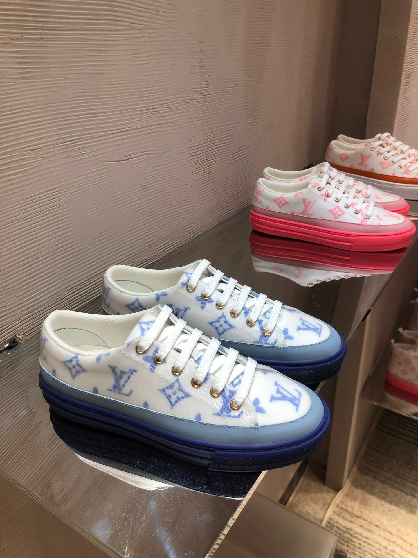 comode scarpe basse-top di vendita caldi pattini delle nuove donne di 3 colori di design sneaker di lusso piatto fondo delle donne casuali