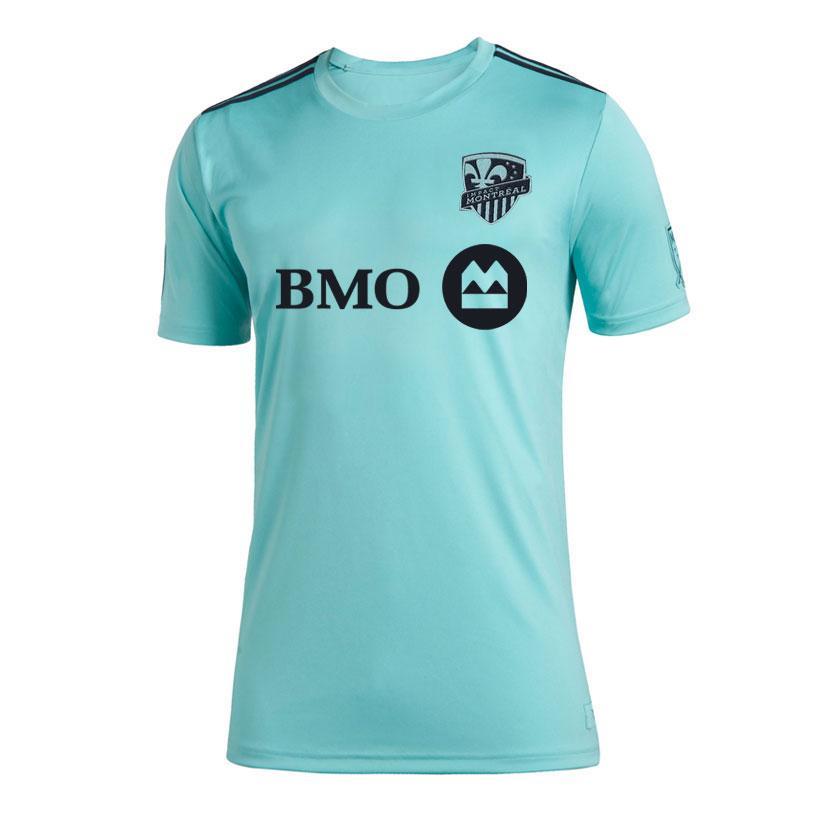 2020 MLS Montreal Impact Parley Jersey maglia pullover di calcio di calcio Parley pullover di calcio degli uomini attivi pullover da uomo T-shirt taglia S-4XL