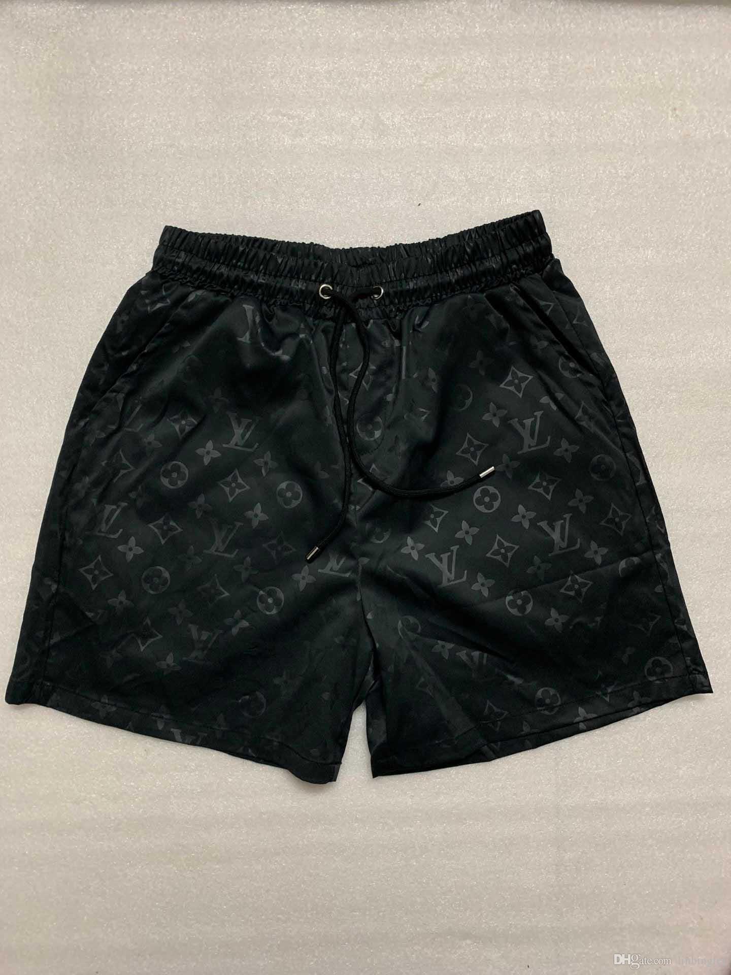 Estate Sweatpants Uomini Shorts Pantalone Moda Pantaloni Sport Surf Beach Swim con la lettera di stampa Designer coulisse Shorts