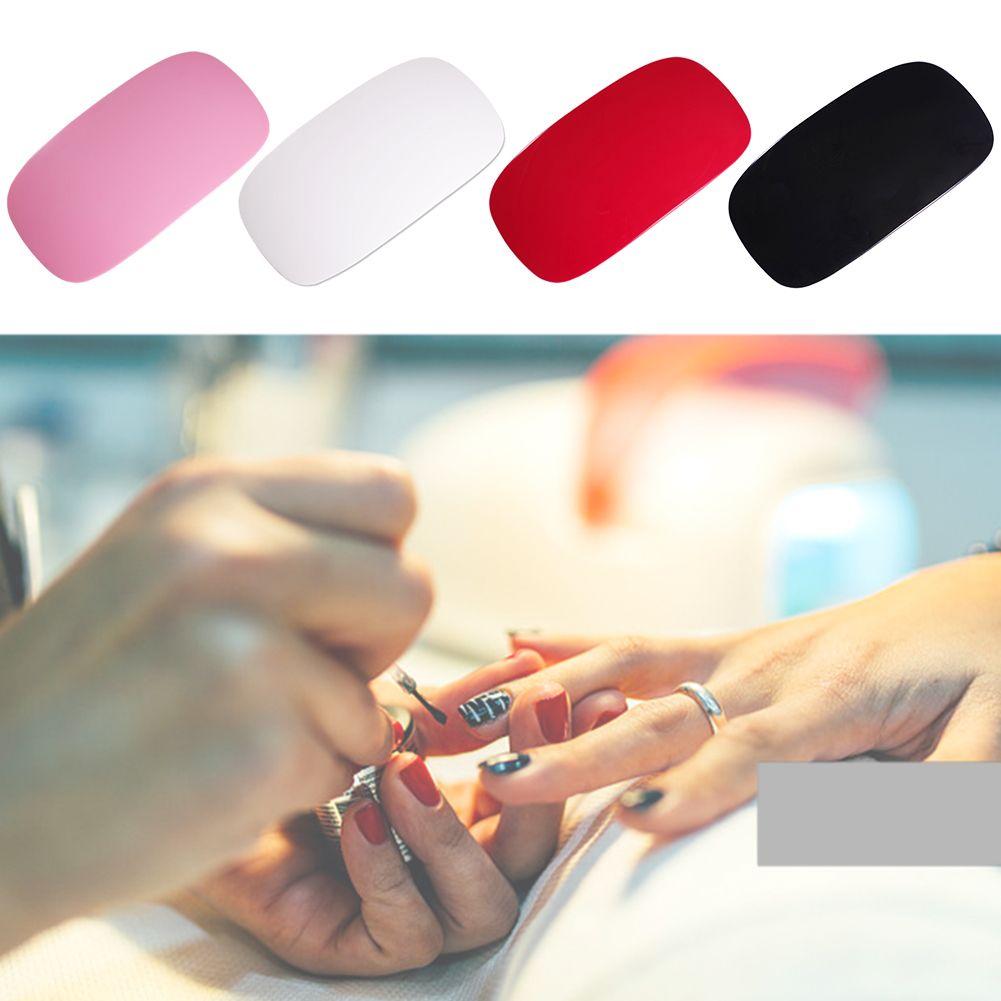 LED Lamp Nail Dryer Mini Mouse Shape UV LED Lamp Pink UV Gel Polish Quick Dry Nail Dryer, Manicure Art Tools USB Charge