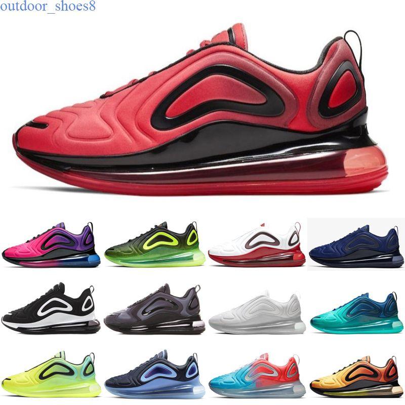 Nike air max 720 Zapatos de alta calidad zapatos para correr eclipse total atardecer luces del norte día Noche ser verdad para mujer para hombre Zapatos zapatillas de deporte sh