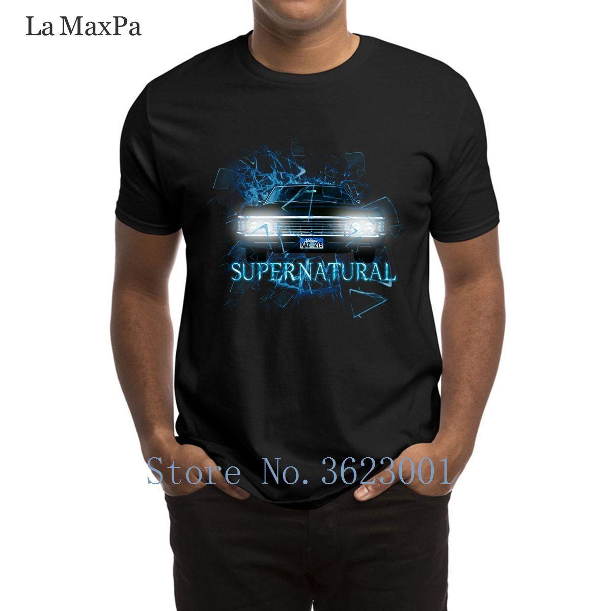 Tendencia Camiseta de encargo Supernatural Destruir Uninverse T camisa del traje Funky Camiseta Mejor manga corta camiseta linda