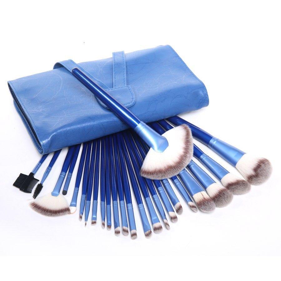 Vander Profesyonel 24 adet Sentetik Kozmetik Makyaj Fırçalar Set Allık Dudak Kabuki Kontur Fırça Çok Amaçlı Pincel Maquiagem