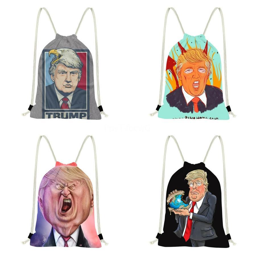 2020 Nuovo s cuoio di lusso Trump Zaino V Lettera borsa Trump di lusso Tote frizione zaino insacca il trasporto libero 29 # 647