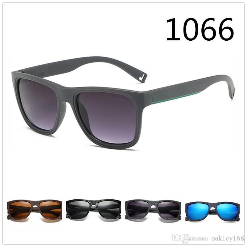 موضة جديدة 1066 النظارات الشمسية العلامة التجارية مصمم النظارات الشمسية النظارات الشمسية الرجال والنساء الكلاسيكية الرجعية نظارات نظارات uv400