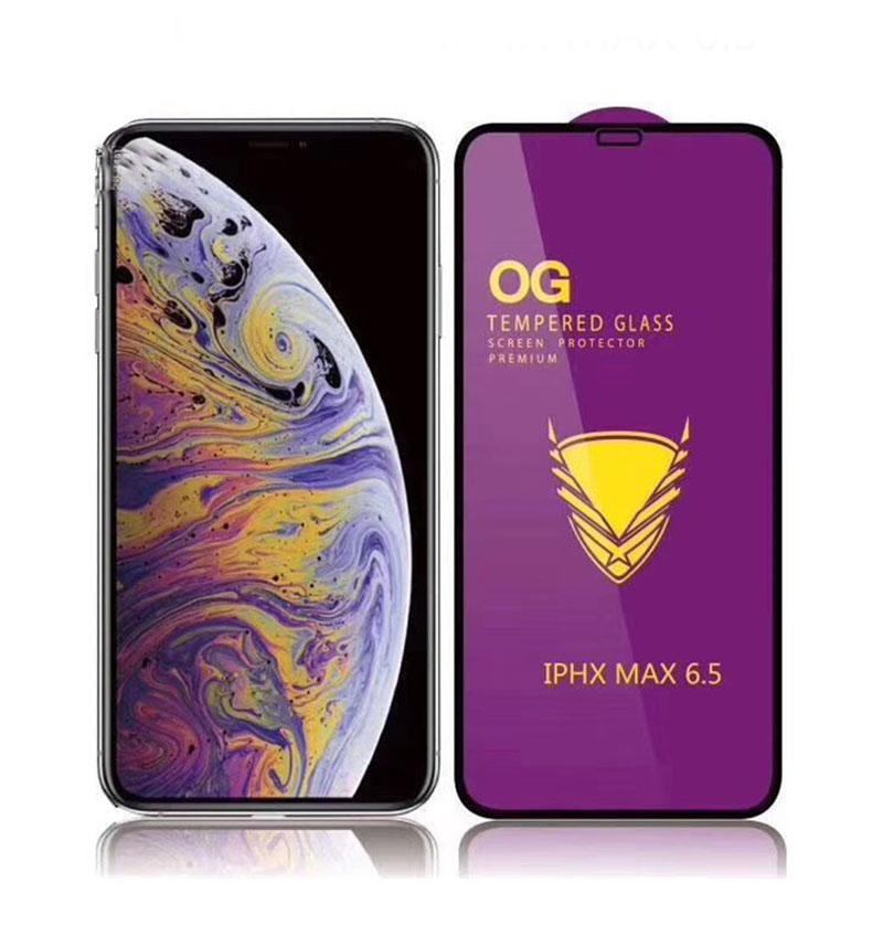 5D Premium Full adhesive Tempered Glass 9H Full Cover Glue Screen Protector film for iPhone 12 11 pro Max XR XS 6 7 Plus 8
