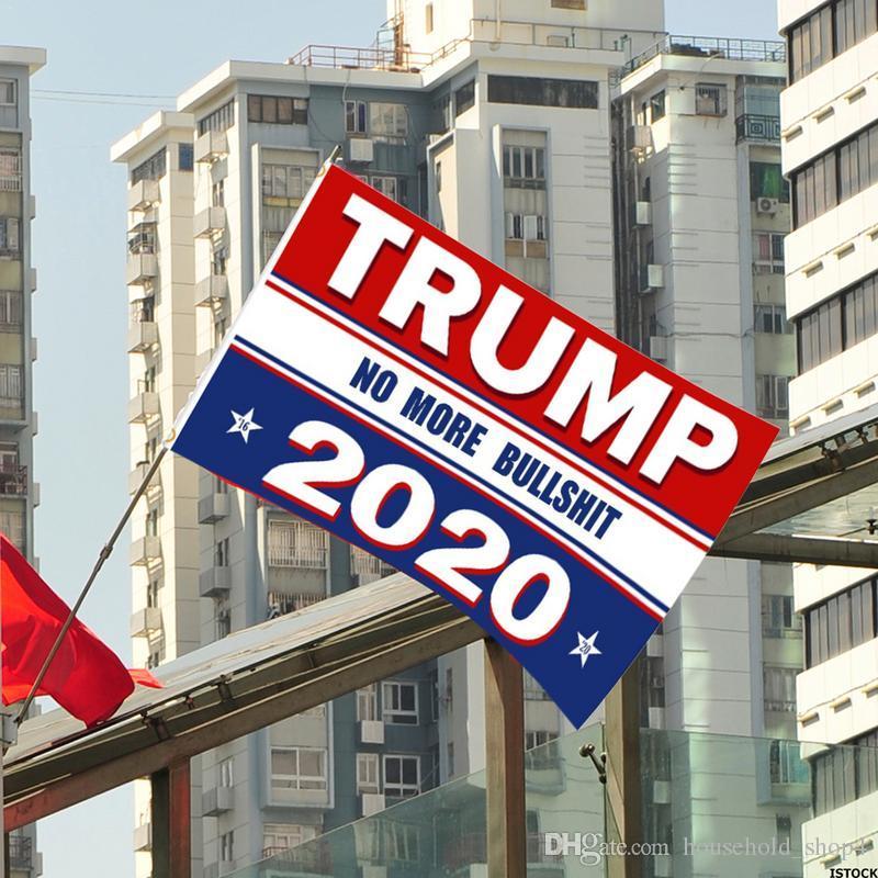 150x90 cm Donald Trump Bandeira para Trump 2020 Bandeira Dupla Face Impresso Fazer América Grande novamente compaign Para o Presidente EUA