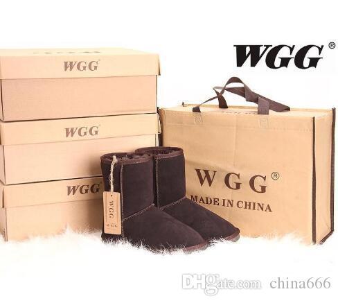 Завод Классической РГД Марка Женщина популярна в Австралии из натуральной кожи сапог женщин способа ботинки снега US4 - US13 N63