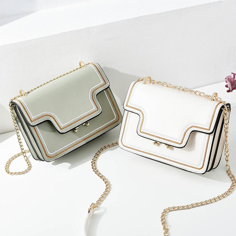 Mini Saco 2020 New Fashion Chain Bag Casual Simple Cross-Body Women's