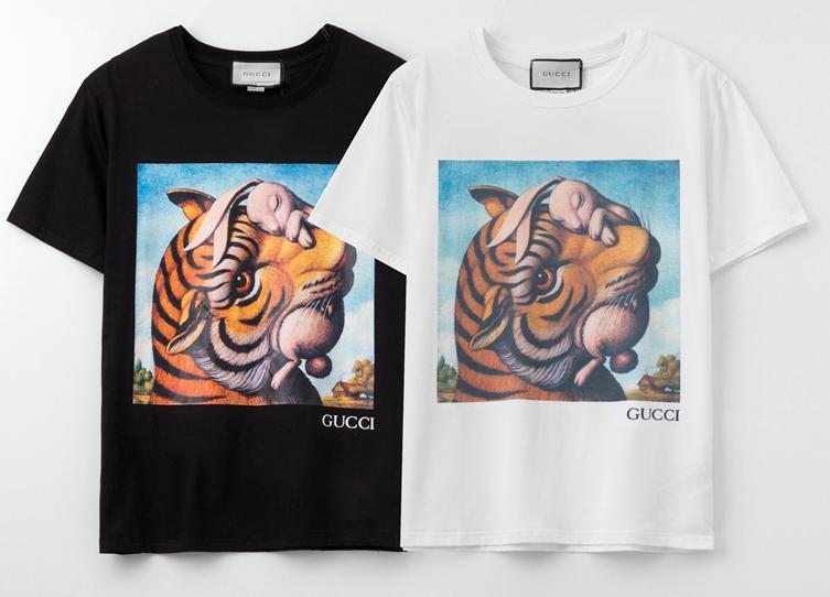 2020 nuova marca dello stilista t-shirt per le ragazze Camicie maniche corte Mens maglietta animali Estate Womens stampa Tees superiore 2031601V
