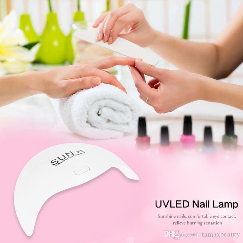 Tamax Новое прибытие ВС X3 24W UVLED лампы Сушилка для ногтей отвердевания для ногтей Гель-лак сушильная машина искусства ногтя инструмента