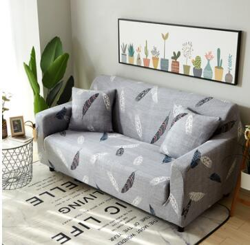 Gray Sofa Cover Stretch Furniture Covers Elastic Sofa Covers For Living  Room Slipcover Seat Cover Spandex Couch 1 4 Seater Small Chair Slipcovers  ...