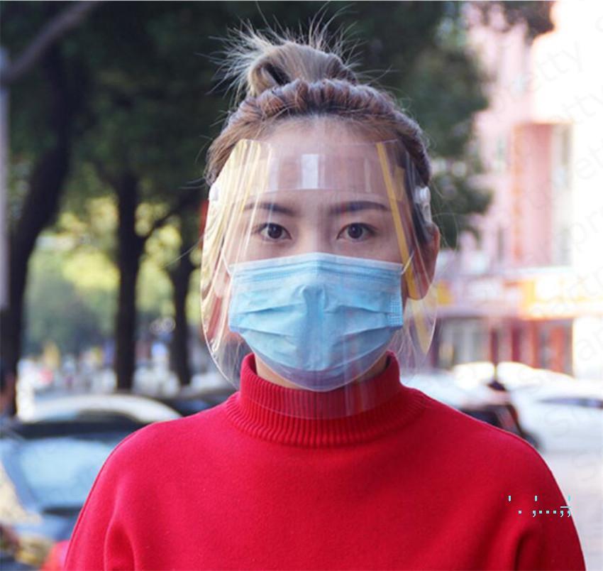 الأطفال الكبار مواجهة الدرع المضادة للضباب الغبار واقية قناع الوجه التنفسي HD اضحة وشفافة كاملة النفط سبلاش إثبات سلامة قناع E4204 في الهواء الطلق