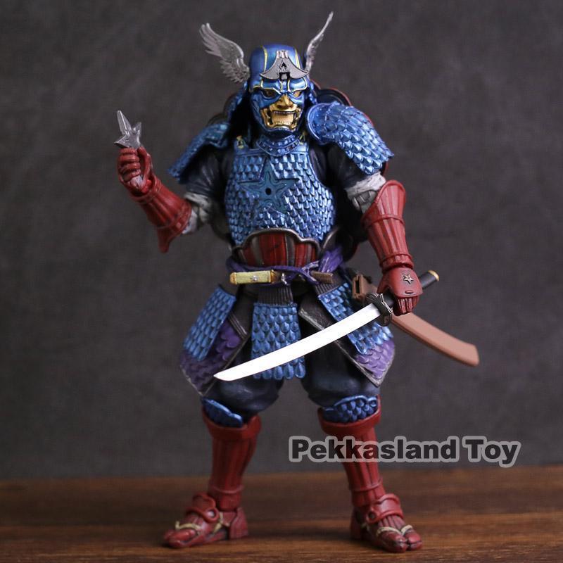 Le film Avenger Super Hero Captain America Samurai meisho action PVC Figure Jouets