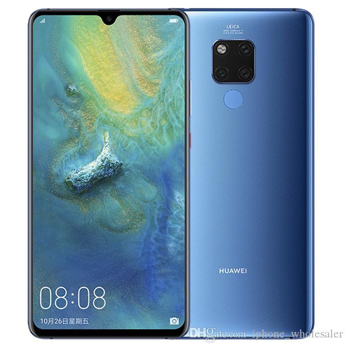 Оригинальный Huawei Mate 20 X 20X 4G LTE сотовый телефон 8GB RAM 256GB ROM Kirin 980 Octa Core 7.2 дюймовый полноэкранный 40MP Fingerprint ID мобильный телефон