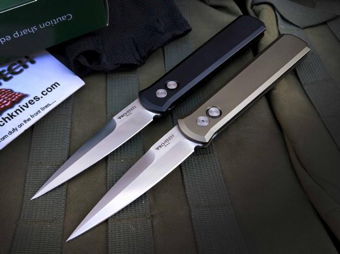 Protech Godfather 920 Action unique Tactique automatique automatique pliante de chasse Pochette Couteau EDC Couteau Couteau Couteau Couteaux de chasse Couteaux de Noël A3110