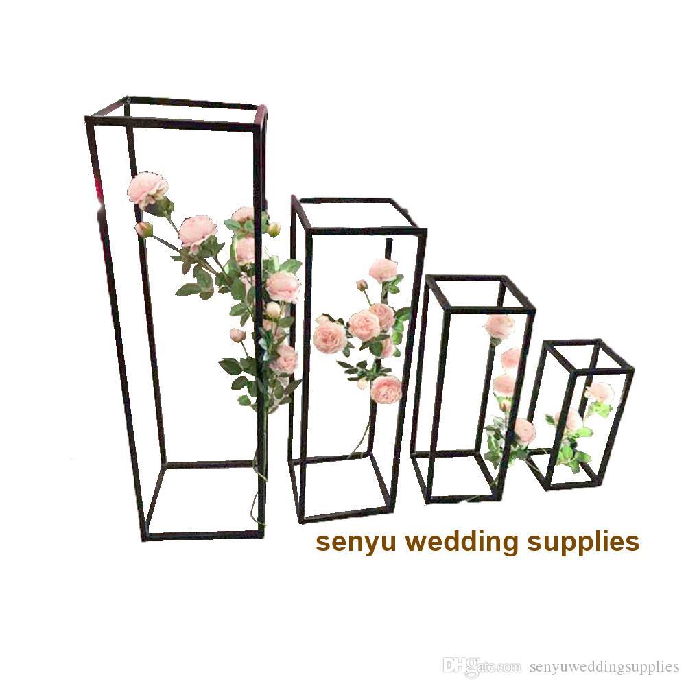 60cm/120cm tall )70cm black mermaid wedding vase floor standing vase wholesale sey0104