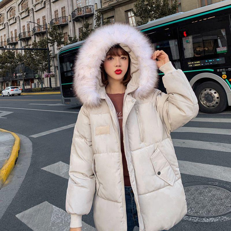 Womens Casacos de inverno para baixo espessamento de algodão Jacket e casaco para as mulheres de alta qualidade Parka casacos mulheres roupas de inverno casacos T191021