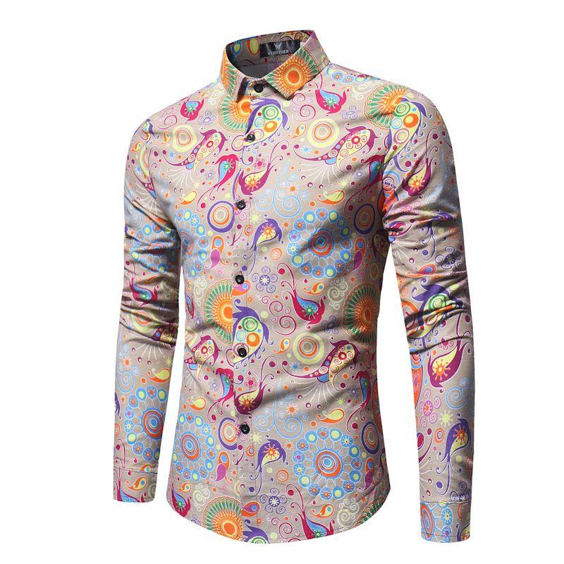 Erkek tasarımcı t shirt t shirt elbise beyaz tişörtleri İlkbahar ve Sonbahar Yeni Stil Erkekler uzun kollu spor gömlek fantezi üst