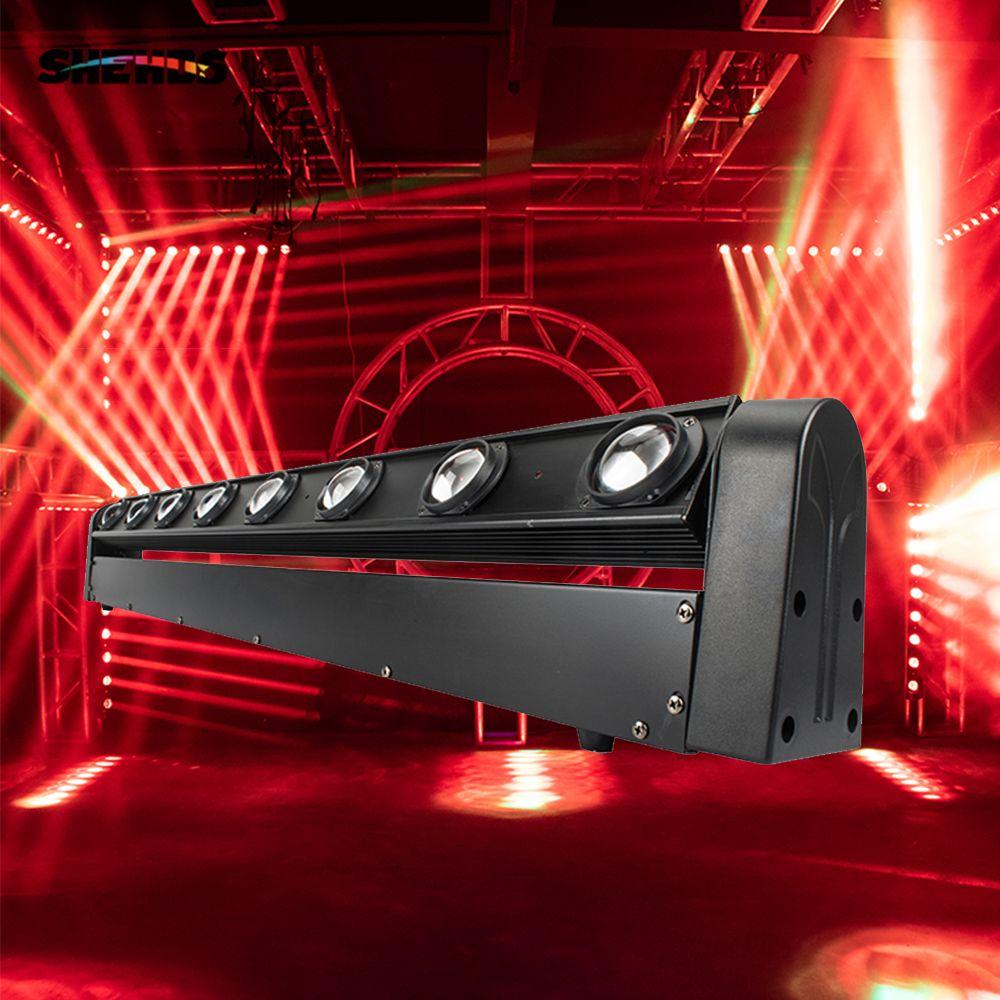 모바일 DJ, 파티, 나이트 클럽, SHEHDS 무대 조명에 대한 헤드 라이트 RGBW 8x12W 완벽한 이동 LED 바 빔