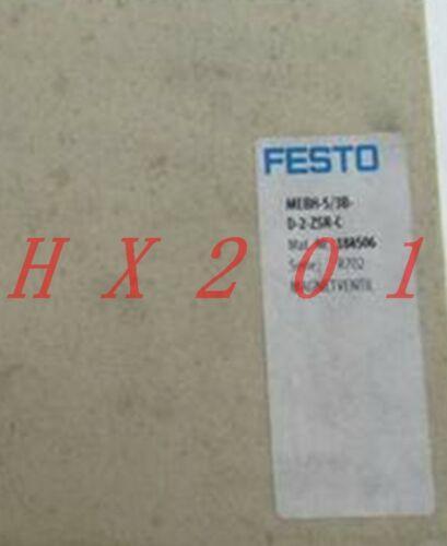 UM NOVO FESTO válvula solenóide MEBH-5/2-D-2-C-184500 ZSR