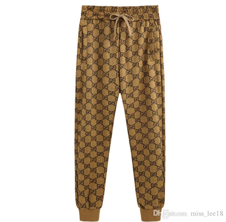 mayorista-2XL S ropa de alta calidad Tamaño pantalones de hombre Pantalones deportivos para hombre Joggers Casual Pantalones Harem pantalón deporte al aire libre de los hombres de la letra