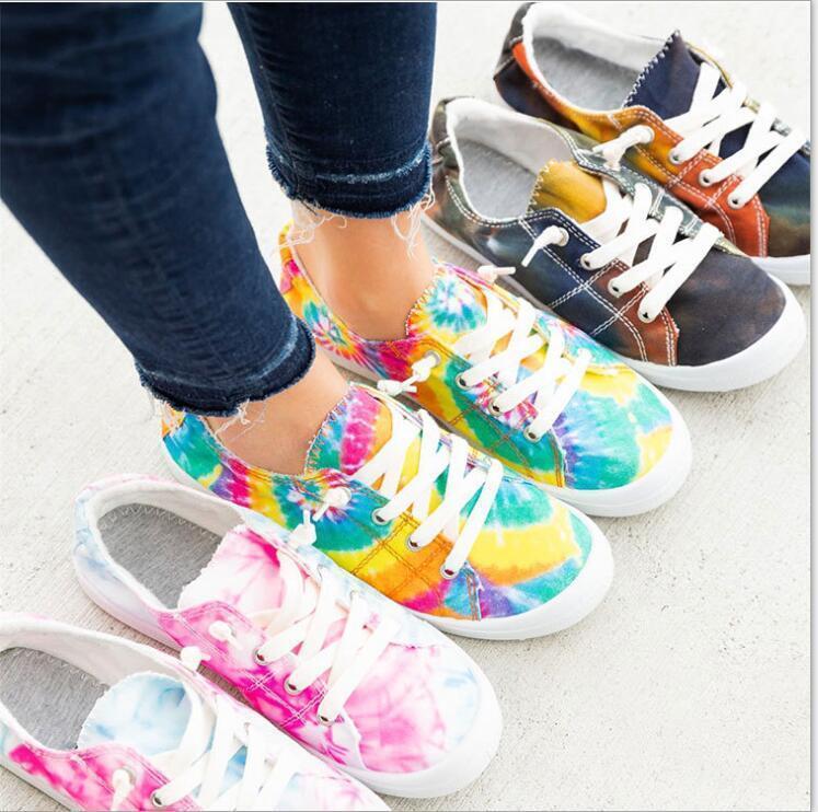 Chaussures mémoire en mousse Plaid Chaussures de toile de Camo Casual Flats Mocassins Lazy Sneakers Chaussures Chaussures Respirant simples Sports de plein air Chaussures E7423
