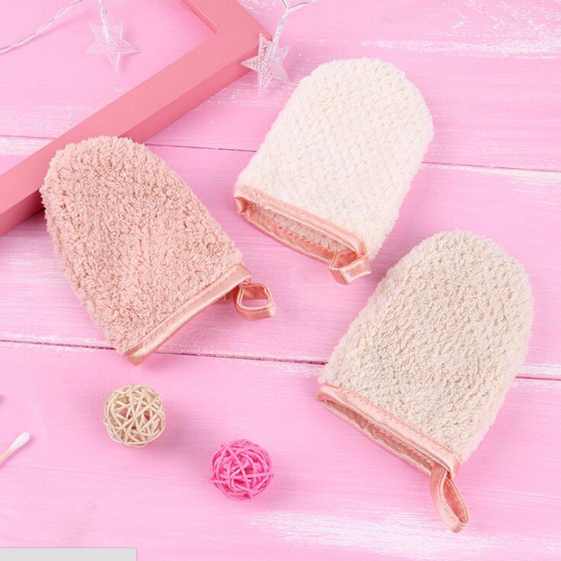 magic Makeup Remover Face Towel Cleansing Glove Reusable Microfiber Women Facial Cloth Cosmetic Puff Make Up Face Care