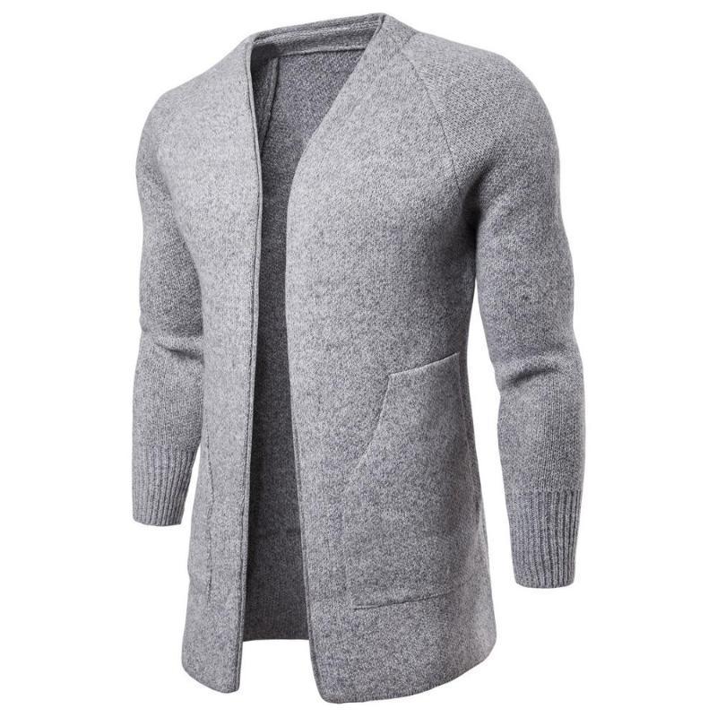 Мужчины свитер Одежда с длинным рукавом Пуловеры Outwear Люди свитера