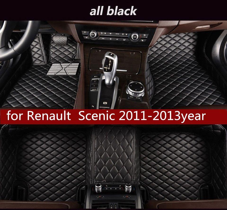 Convient pour Renault Scenic 2011-2013year antidérapante Non toxique Pied Pad voiture Pied Pad
