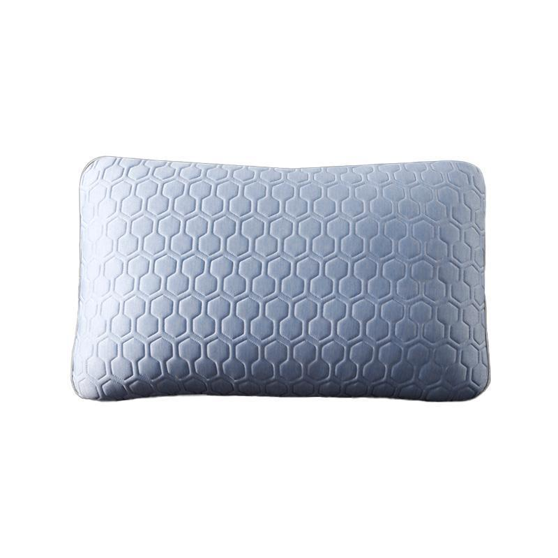Factory Wholesale Cooling Gel Memory Foam Pillow Adjustable for Better Sleep Non-Toxic Made in China Standard Size Throw Pillow